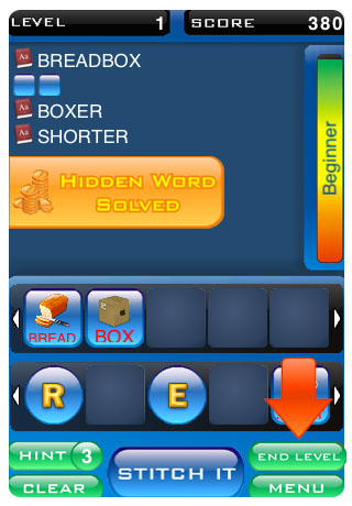 Screenshot Stitch'em Words – Ultimate Edition