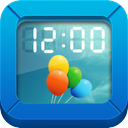 IS Clock Digital photo clock