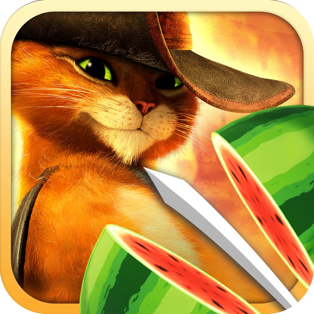Fruit Ninja: Puss in Boots iOS
